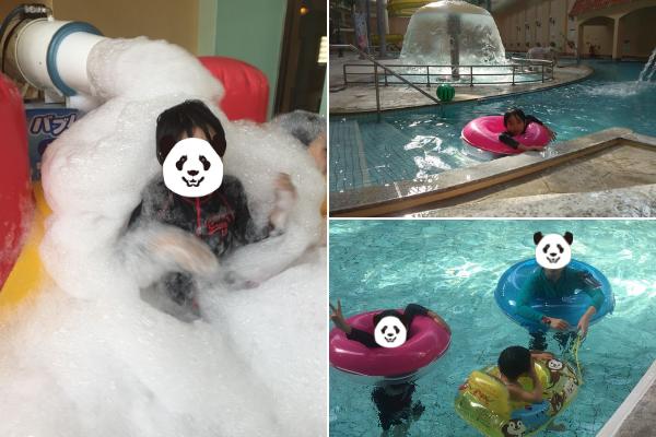 奈良健康ランド室内プール