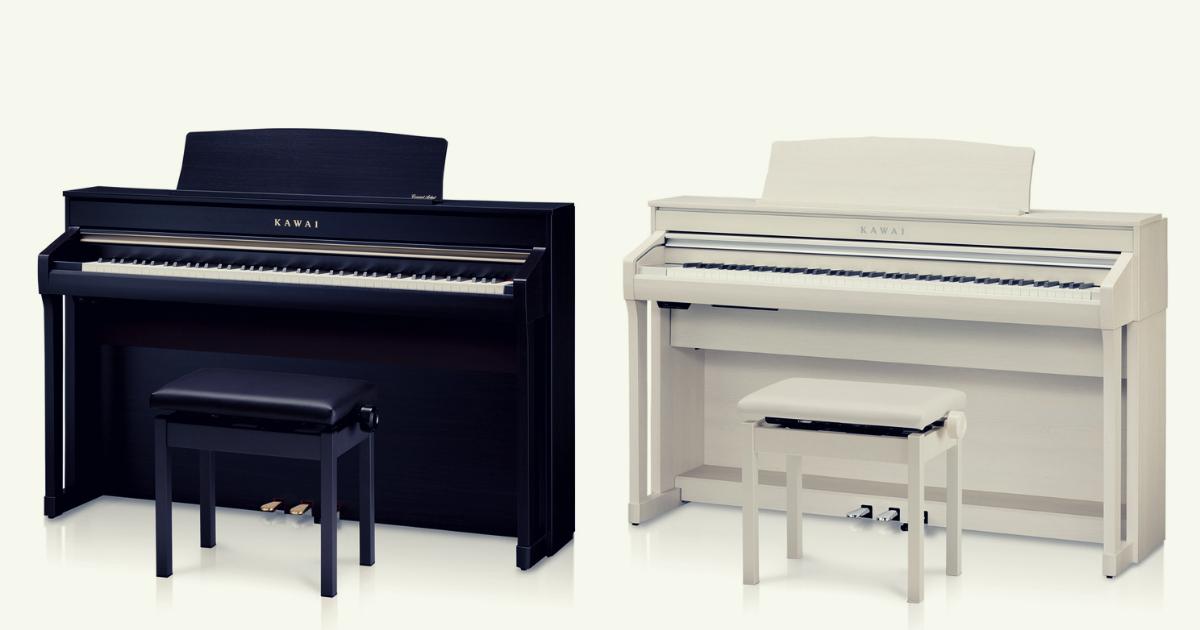 我が家に電子ピアノ『KAWAIのCA78』がやってきた!レビュー動画付