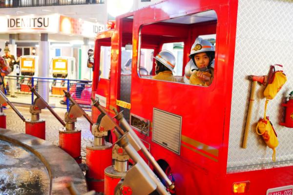 キッザニア甲子園 消防署