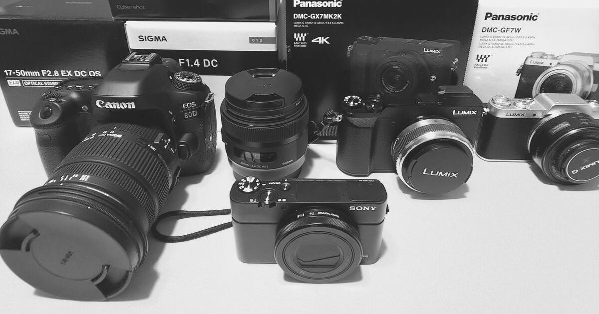 カメラ下取り価格 eos80D RX100m4 GF GX7MK27