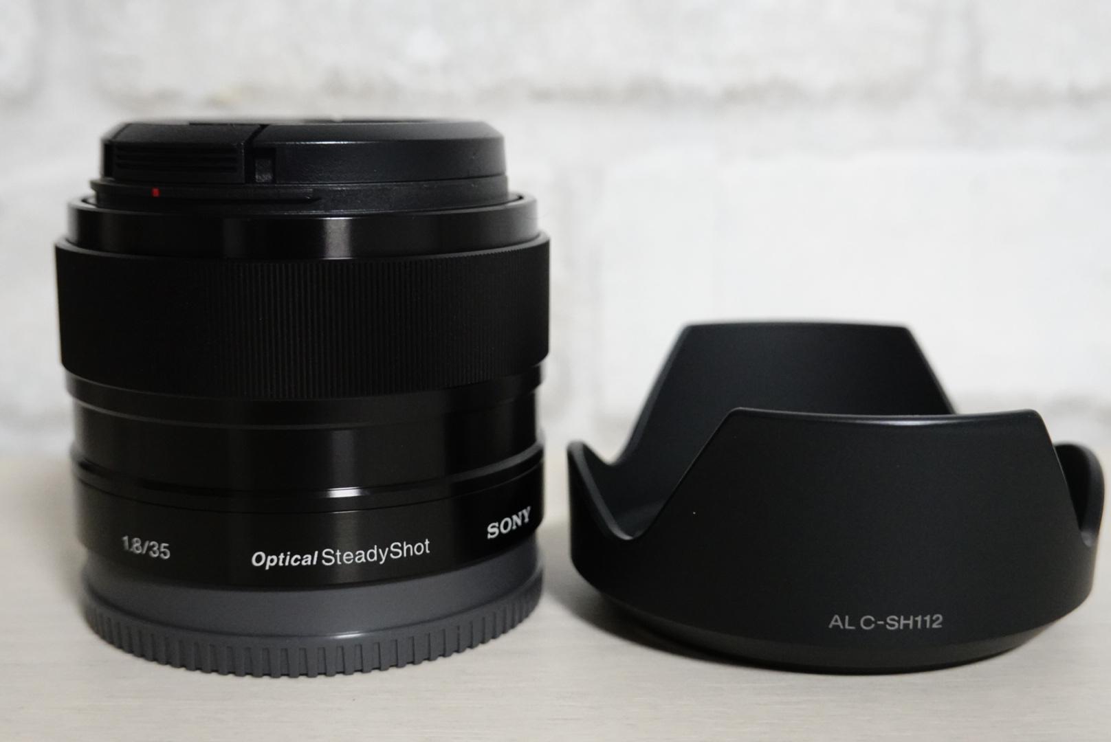 ソニーの純正単焦点レンズ『E 35mm F1.8 OSS SEL35F18』
