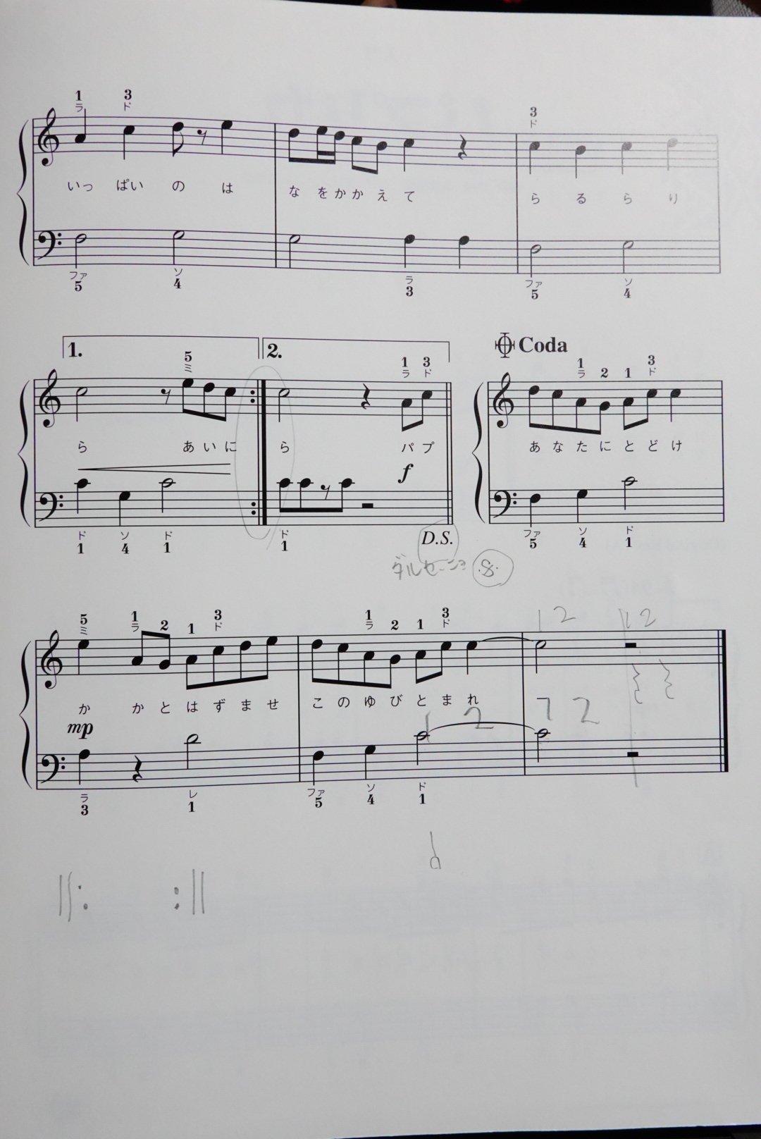 入門向けピアノ楽譜『パプリカ』